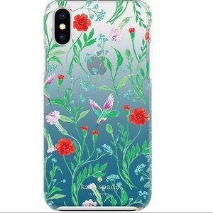 Kate Spade hummingbird iphone x case